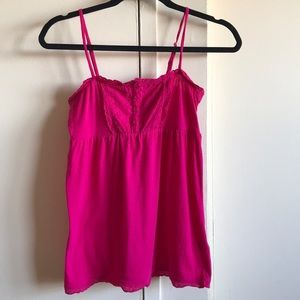 I really cute pink strap top